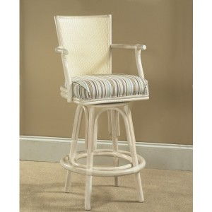 "Classic Rattan Idle Hour 24"" Counter Height Bar Stool"