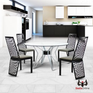 Johnston Casuals Carmine & Transformer Round Dining Set