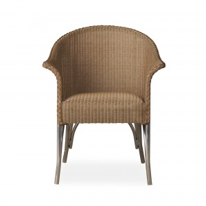 Lloyd Flanders All Seasons Dining Armchair with Padded Seat