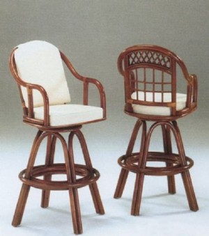 "Classic Rattan Caliente 24"" Bar Stool"