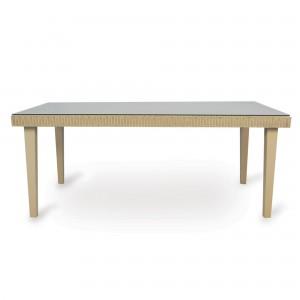 "Lloyd Flanders Hamptons 73"" Rectangular Dining Table"
