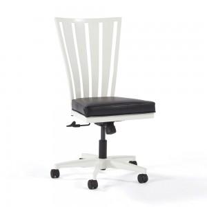 Johnston Casuals Klingman Swivel Tilt Caster Dining Chair 2402ST