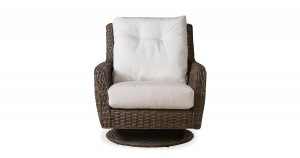 Lloyd Flanders Largo High Back Swivel Rocker Lounge Chair