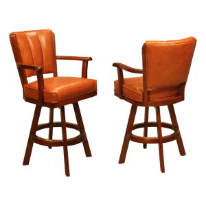 IM David 3590 Swivel Wood Bar Stool 30""