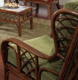 Classic Rattan Grand Isle Hi Back Lounge Chair