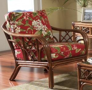 Classic Rattan Grand Isle Lounge Chair