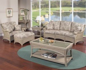 Classic Rattan Riviera Living Room Set