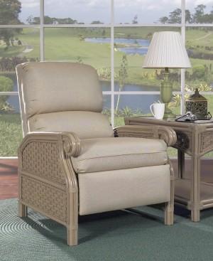 Classic Rattan Riviera Recliner Chair