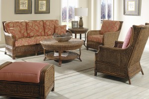 Classic Rattan Callaway 6PC Living Room Set