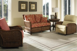 Classic Rattan Callaway 4PC Living Room Set