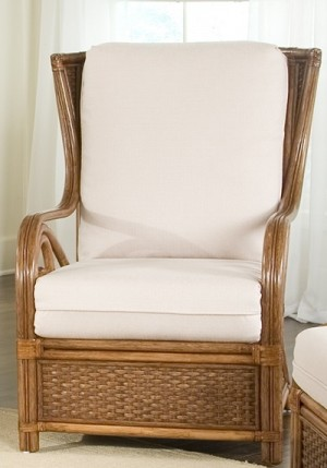 Classic Rattan Calani Hi Back Lounge Chair