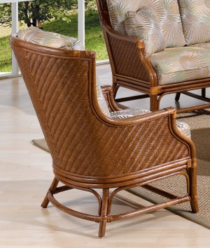 Classic Rattan Edgewater Hi Back Lounge Chair