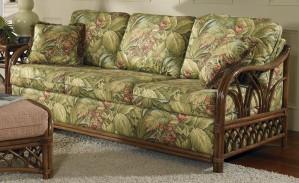 Classic Rattan Orchard Park Sleeper Sofa