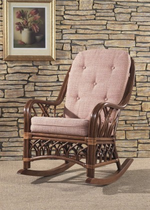 Classic Rattan Orchard Park Rocker Chair