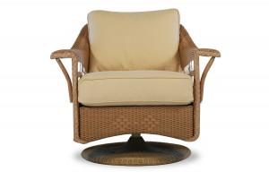 Lloyd Flanders Nantucket Swivel Glider Lounge Chair