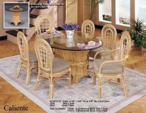 Classic Rattan Caliente Dining Set