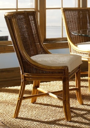 Classic Rattan Bodega Bay Dining Chair