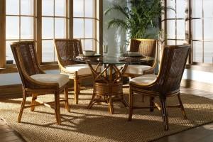 Classic Rattan Bodega Bay Dining Set