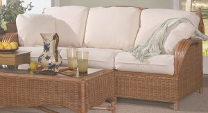 Classic Rattan Bodega Bay Sleeper Sofa