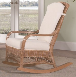Classic Rattan Bodega Bay Rocker Chair