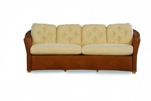 Lloyd Flanders Reflections Crescent Sofa
