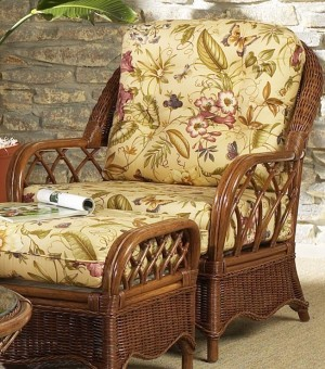 Classic Rattan Eastwind Lounge Chair