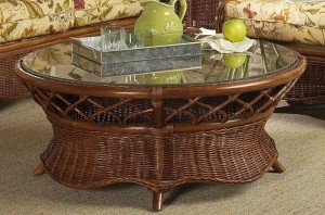 Classic Rattan Eastwind Coffee Table Round