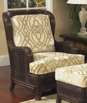 Classic Rattan Windsor Hi Back Lounge Chair