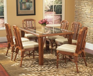 Classic Rattan Bayview 7PC Dining Set