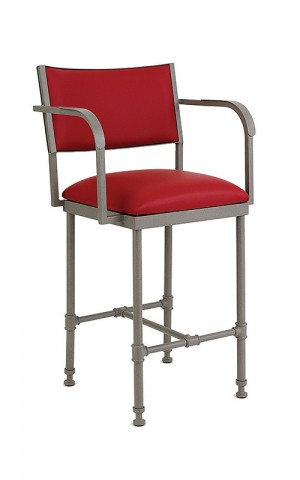 "Wesley Allen Bridgeport 26"" Bar Stool"
