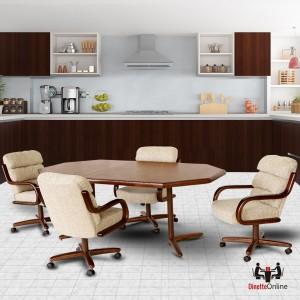 Chromcraft C137-936 and T154-456 Table Dinette Set