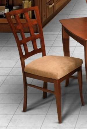 I.M. David C7120 Lattice Back Dining Chairs