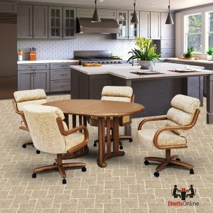 Chromcraft C137-946 and T717-85 Laminate Table Dinette Set
