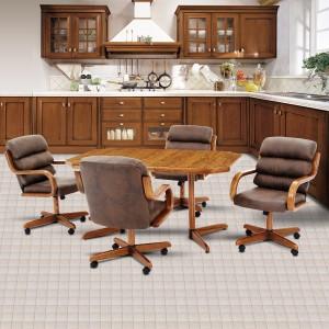 Douglas Furniture Patty Swivel Tilt Caster Dinette Set