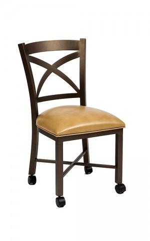 Wesley Allen Edmonton Caster Dining Chair