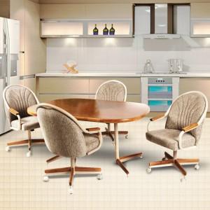 Douglas Casual Living Gina 5 PC Caster Dining Set