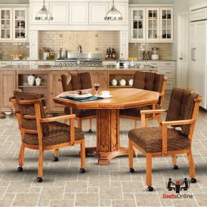 I.M. David C1506 and T5224 Octagon Caster Dining Set