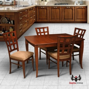 IM David C7120 & T62W7RB Dining Set