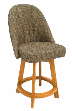 Chromcraft C128-384 26 Counter Height Swivel Barstool