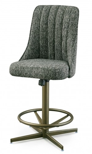 "Chromcraft C51-478 30"" Swivel Bar Stools"