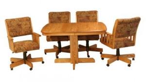 CR Joseph Wood Dining Table