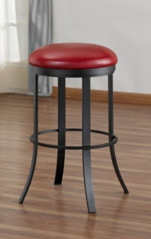 Tempo Like Birkin Backless Bailey 34 Swivel Bar Stool by Callee