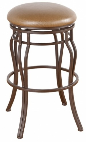 Tempo Like Hartford Swivel 26 Hayward Backless Bar Stools by Callee