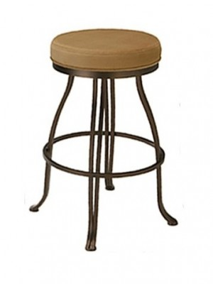 "Tempo Like Lodge Swivel 30"" London Backless Bar Stools by Callee"