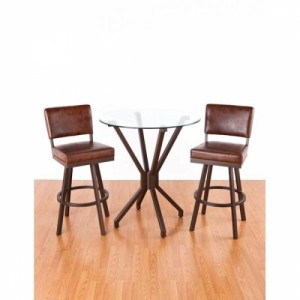 Tempo Like Manhattan Counter Height Malibu Pub Set by Callee