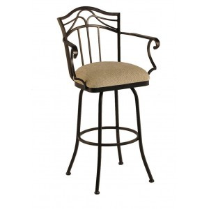"Callee Berkeley 26"" Swivel Bar Stool with Arms"