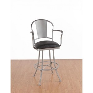 Tempo Like Chaucer 34 Charleston Swivel Bar Stool by Callee