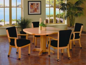 IM David C1298 and T2857 Caster Dining Set