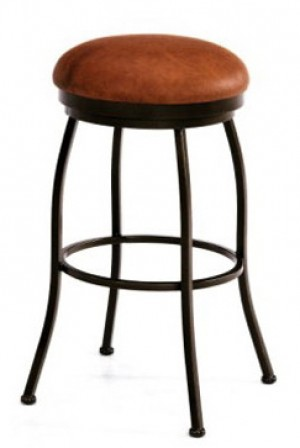 "Callee Bristol 30"" Swivel Backless Bar Stool"