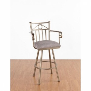 "Tempo Like Seville 30"" Sevilla Swivel Bar Stool with Arms by Callee"